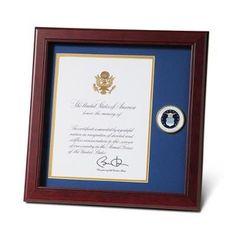 force medallion medallion 8 flag display case frame display force frames 10 presidential frames military display america military photo