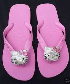 pink with hello kitty bling embellishments!!!!!
