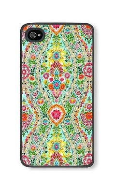iPhone 4/4S Phone Case DAYIMM Colorful Flowers In Aquamarine Background Black PC Hard Case for Apple iPhone 4/4S Case DAYIMM? http://www.amazon.com/dp/B017LCLQ7A/ref=cm_sw_r_pi_dp_dyarwb01T2HXY