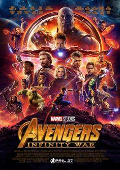 Avengers Infinity War Marvel superhero movie cover poster