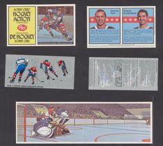 1972 Post Cereal Bobby Orr Hockey Action Transfer #11 HULL / Kurtenbach Vtg NHL…