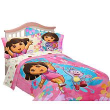 Dora the Explorer Exploring Together Twin/Full Comforter