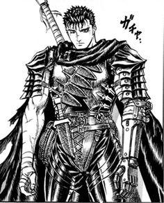 Guts - Berserk Manga - Kentaro Miura (Image found on the Berserk fan wiki)