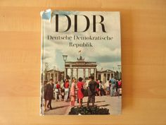 GDR / DDR PHOTO ALBUM  Vintage LUXURY GERMANY PROPAGANDA BOOK 1969 Europe.  Bid start form $0.99