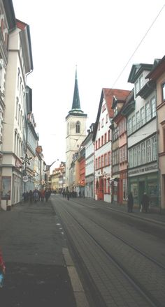 German Christmas. Erfurt, Germany   First To The Party