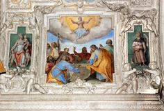 On the 15th of August, the #AssumptionofMary is celebrated in the #SanctuaryofLoreto. The proclamation of the Dogma was announced by Pope Pio XII in 1950.  ❤  Il 15 agosto al #SantuariodiLoreto si commemora l'ASSUNZIONE IN CIELO della #VergineMaria. La proclamazione del Dogma dell'Assunta è stata fatta da Pio XII nel 1950. #marchespiritualroute #Loreto