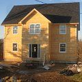 Two story Home Wolfville Nova scotia Custom Decks, Two Story Homes, Second Story, New Builds, Nova Scotia, Shed, New Homes, Outdoor Structures, Building