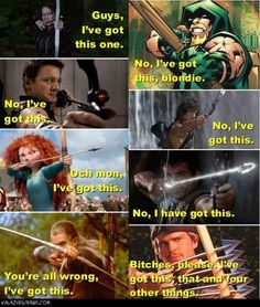 Oh Please! I've got THIS, THAT & FOUR MORE! #Funny #Archers #Movies #lol