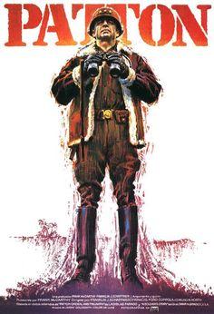 PATTON (1970) - George C. Scott - 20th Century-Fox - Movie Poster.