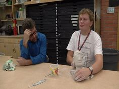 A remarkable student at Pueblo South High School is creating a work of art and he's doing it all without his sight.For the past month, a blind student has been working on a sculpture of his own fac...