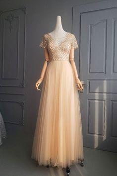 Orange Blush, Purple Grey, Blush Pink, Prom Party Dresses, Formal Dresses, Platinum Grey, Hot Pink, Champagne, Tulle