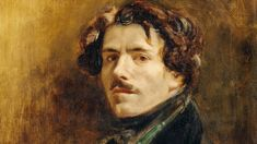 """Writing in The Journal of Eugène Delacroix (public library) in early January of the young artist addresses himself directly, as he often does in the diary: """"Nourish yourself with grand and austere ideas of beauty that feed the soul… Seek solitude. Hans Christian, Delacroix Paintings, Eugène Delacroix, Romanticism Artists, Paris Shows, Caravaggio, Film Music Books, French Artists, Solitude"""