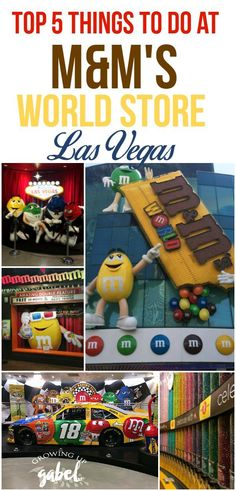 M&M'S World Las Vegas is a family-friendly attraction right on the Strip! See a movie, make personalized M&M'S and more! Check out our favorite things to do at M&M'S World Store - besides shop! Ad #CelebrateWithM
