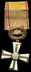 Finland: Order of the Cross of Liberty. 2nd CLASS . Instituted: 4 March 1918.