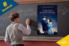 """""""A Teoria de Tudo"""" não venceu estatueta de Melhor Filme, mas rendeu à Eddie Redmayne o Oscar de Melhor Ator, por sua interpretação como o astrofísico Stephen Hawking.  O filme é uma surpreendente história de amor e superação, mostrando o quão longe é possível chegar, apesar de todos os obstáculos que vida pode impor."""