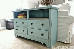 Re purpose dresser ... Love it.