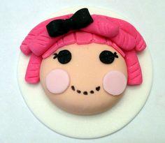 Lalaloopsy cupcake topper!