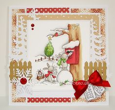 LOTV - Bunnies Post Box by Lorraine Bailey