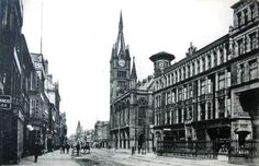 Preston town hall and miller arcade 1900's?