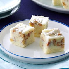 White Pecan Fudge Recipe -Each Christmas, I package batches of this rich fudge to send to family and friends. It's just delicious!