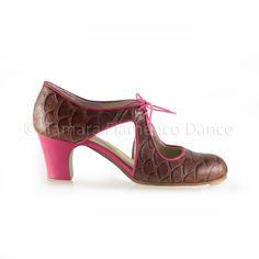 Begoña piel profesional Zapato flamenco modelo Cervera Escote coco de 0Anqaxt