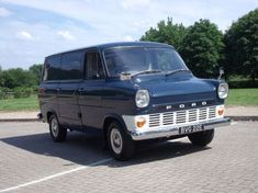 This 1966 has undergone a full restoration it was an ex fireservice van, it has twin side loading doors - a very rare spec van Transit Custom, Cool Old Cars, Engines For Sale, Old Commercials, Cool Vans, Vintage Vans, Ford Transit, Custom Vans, Truck Camper