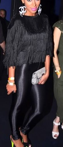 Fringe and disco pants