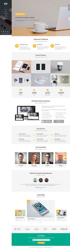 SW Stabwall is a ultimate multipurpose WordPress theme for business or any eCommerce sites. It is built based on the newest design trend and it is extremely clean, super flexible, responsive, working with the awesome Visual Composer to create a powerful admin options panel.