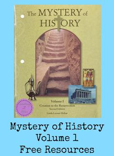 I have recently listened to the free audio clip for the Mystery of History Volume 1 and promptly went and ordered the audio cd's for my family!