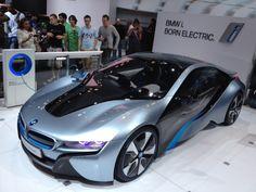 NY auto show - BMW i. born electric