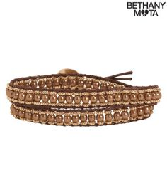 Beaded Cord Wrap Bracelet - Aéropostale®
