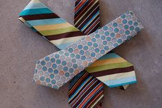 Little Boy Ties DIY tutorial