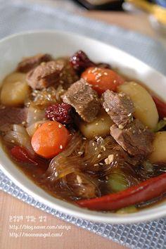 사태당면찜 - 갈비찜대신 사태로 맛있는 찜요리를 만들어봐요...^^ : 네이버 블로그