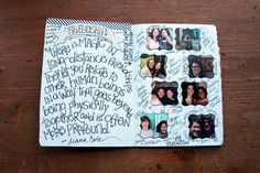 besottment by paper relics: journaling