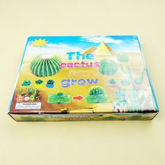 The water color trick funny size long cactus children curious toy