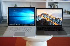 Surface Book i7 vs. MacBook Pro: Fight!—Ali vs. Frazier, Red Sox vs. Yankees, Kirk vs. Khan. And of course, Mac vs. PC; Details>