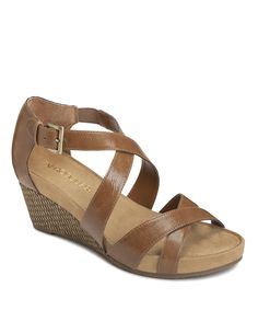 Dark Tan Enlighten Wedge | Daily deals for moms, babies and kids