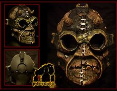 Steampunk Mask - The Demon | Walyo