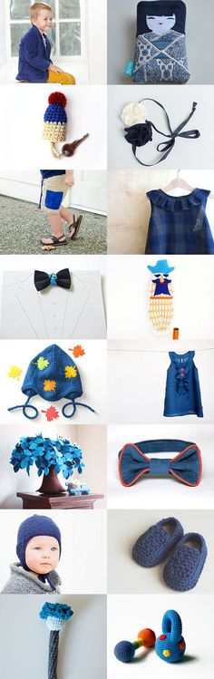 Blue in September by MinthaHandmade on Etsy--Pinned with TreasuryPin.com