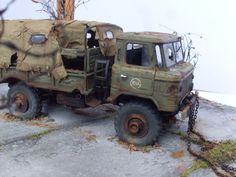 GaZ-66 1/35 Scale Model Diorama