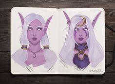 Witcher by Noir-snow on DeviantArt Warcraft Heroes, World Of Warcraft 3, Warcraft Art, Winter Veil, Elves Fantasy, Night Elf, Wow Art, Deviantart, Rpg