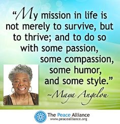 Maya Angelou 1928 – 2014: Remembering a Champion for Peace and Justice | The Peace Alliance