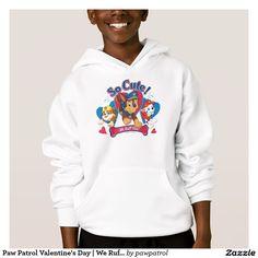 Paw Patrol Valentine's Day | We Ruff You! Producto disponible en tienda Zazzle. Vestuario, moda. Product available in Zazzle store. Fashion wardrobe. Regalos, Gifts. #camiseta #tshirt