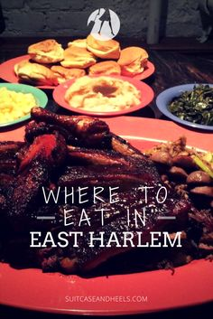 Four Places to Eat in East Harlem via @suitcaseheels