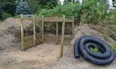 Building a Warm Shelter for Miniature Donkeys or Goats.