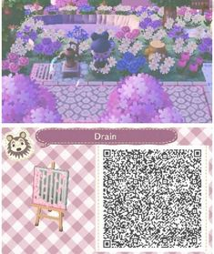 Kawaii City-Natural: Grid for water - acnl-qr-code - Welcome Haar Design Qr Code Animal Crossing, Animal Crossing Guide, Animal Crossing Qr Codes Clothes, Post Animal, My Animal, Sasuke Sakura, Acnl Qr Code Sol, Photo Kawaii, Acnl Paths
