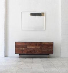 Lake Credenza in Claro Walnut by BDDW Furniture. Pinworthy Tables & Consoles We Love at Design Connection, Inc. | Kansas City Interior Design http://www.DesignConnectionInc.com