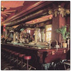 Inside The Clock Restaurant