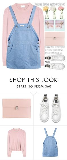 """""""know this:  you can start over, each morning."""" by exco ❤ liked on Polyvore featuring Alexander McQueen, Peony, Acne Studios, clean, organized and shein"""