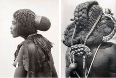 The Mbalantu Women of Africa and Their Floor-Length Natural Hair , Braids Tradition.